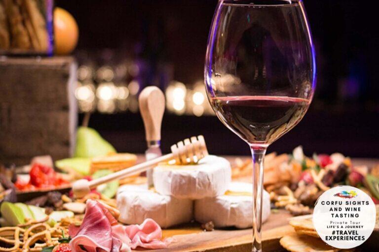 Corfu sights & wine tasting