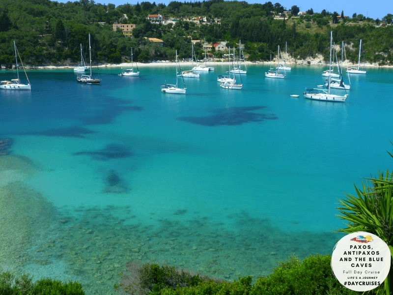 Paxos & Antipaxos islands and the Blue caves