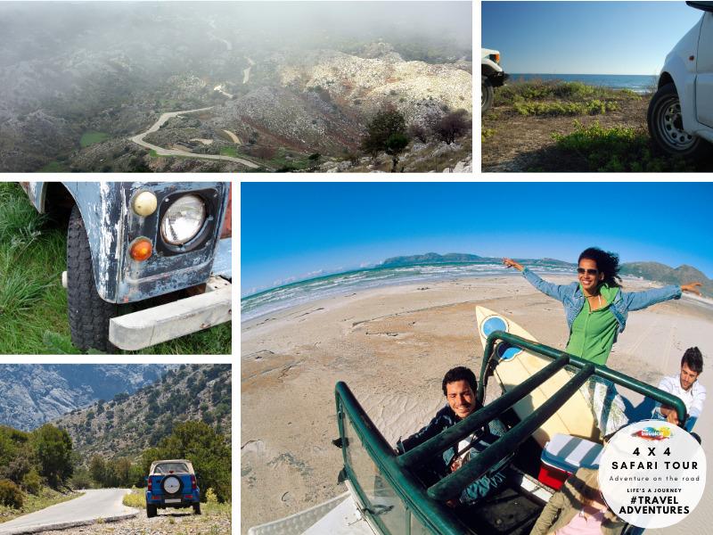 Travelco 4 x 4 Corfu safari tour