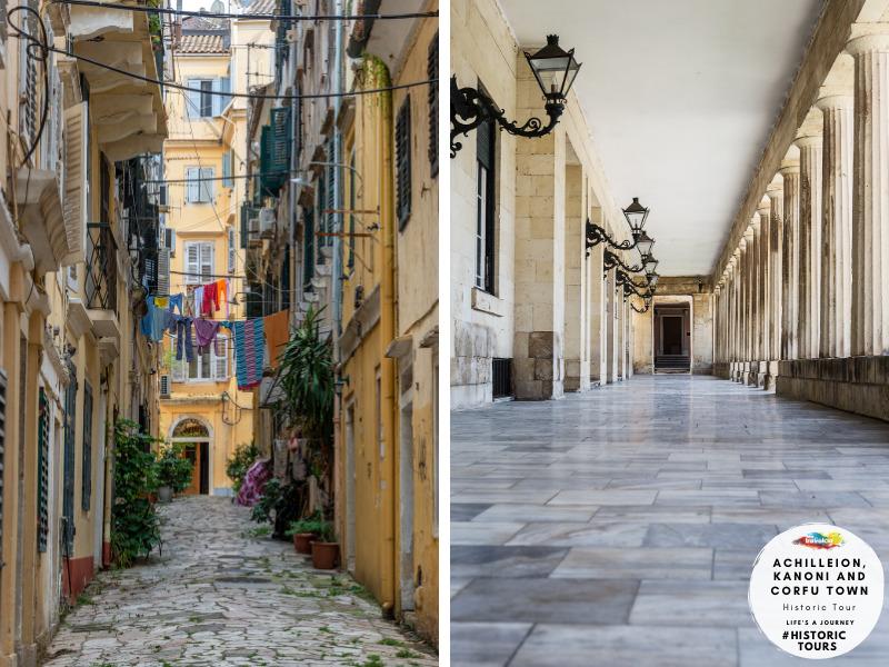Travelco Achilleion palace, Kanoni & Corfu town