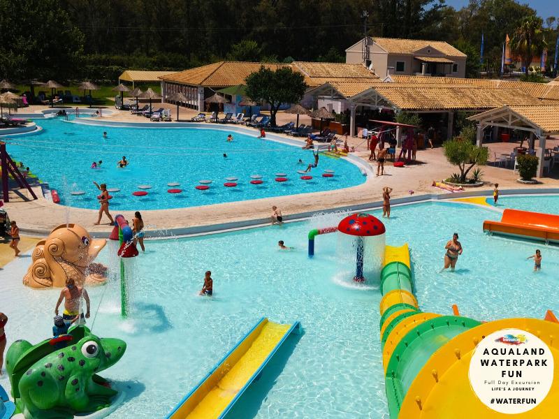 Travelco Aqualand water park fun