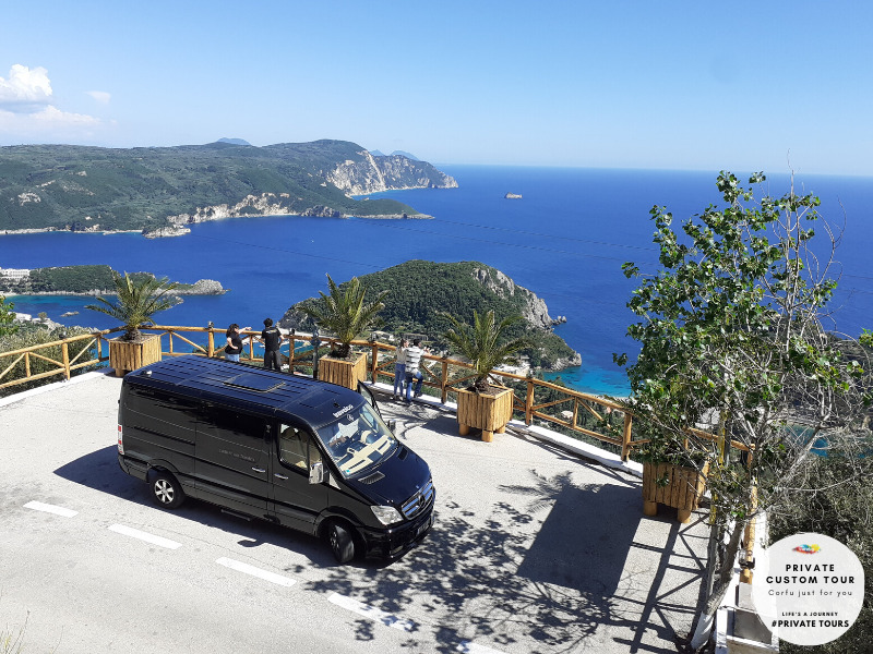 Travelco Corfu in a day private custom tour