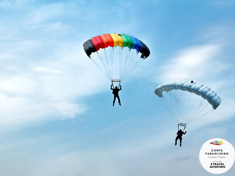 Travelco Corfu paragliding