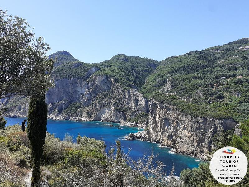 Travelco Leisurely tour of Corfu
