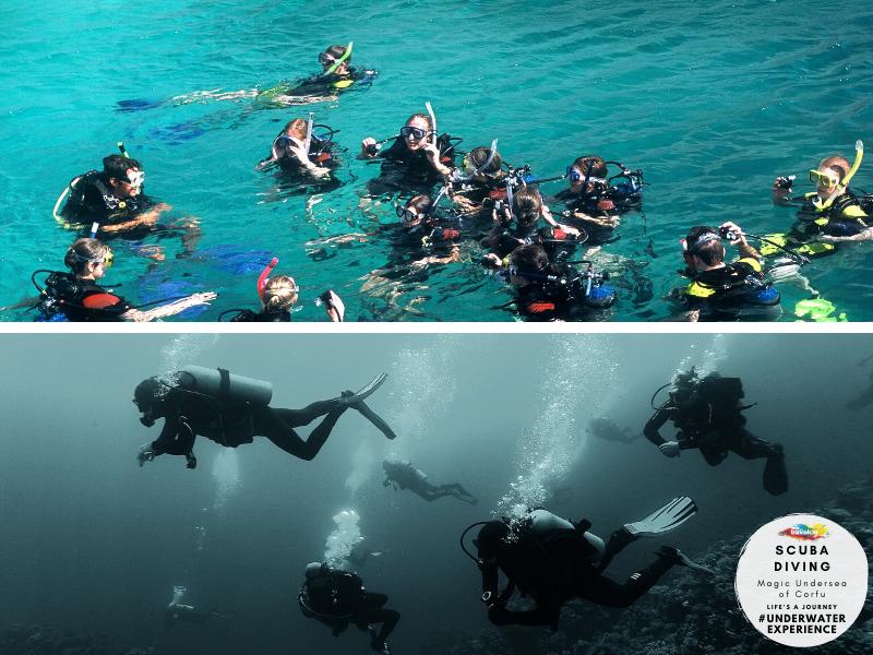 Travelco Magic undersea of Corfu