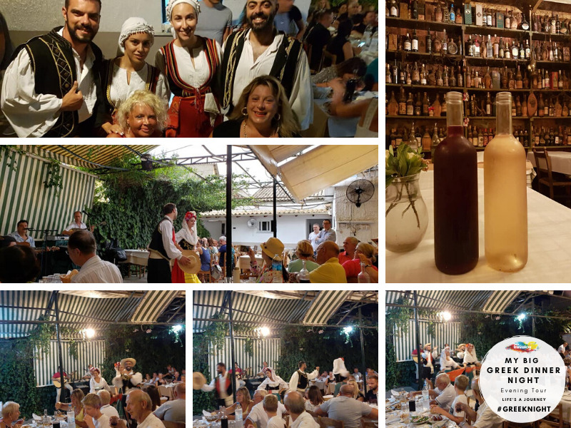 Travelco My big greek dinner night Tour